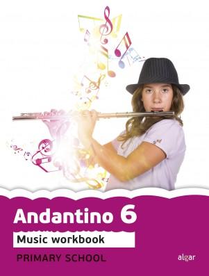 Andantino 6 Music Workbook (App Digital)