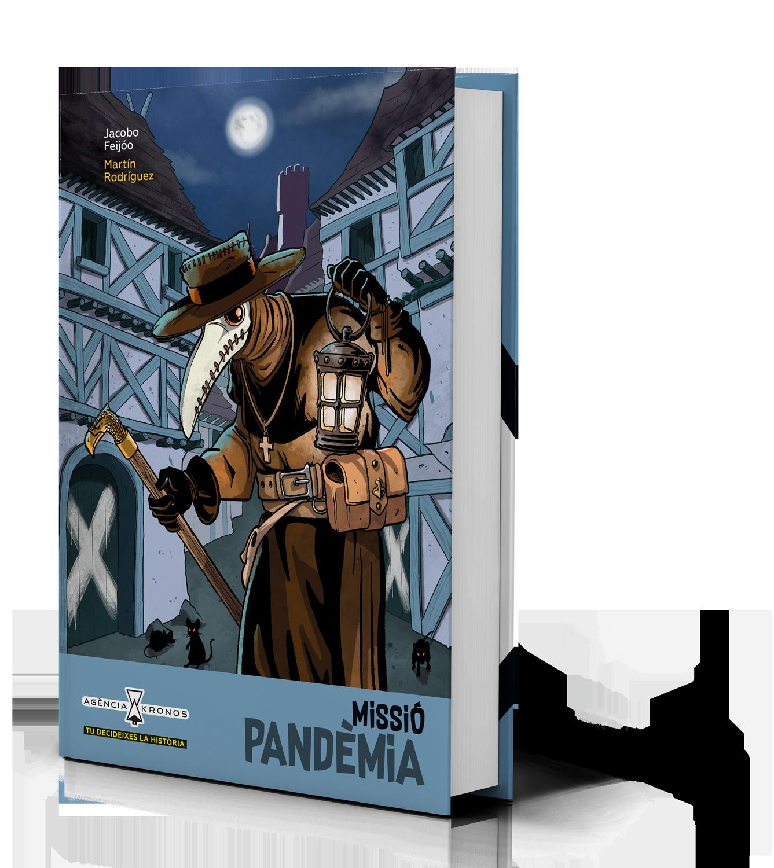 Missió Pandèmia Agència Kronos Bromera