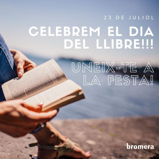 Aquest 23 de juliol celebrem de nou el Dia del Llibre!