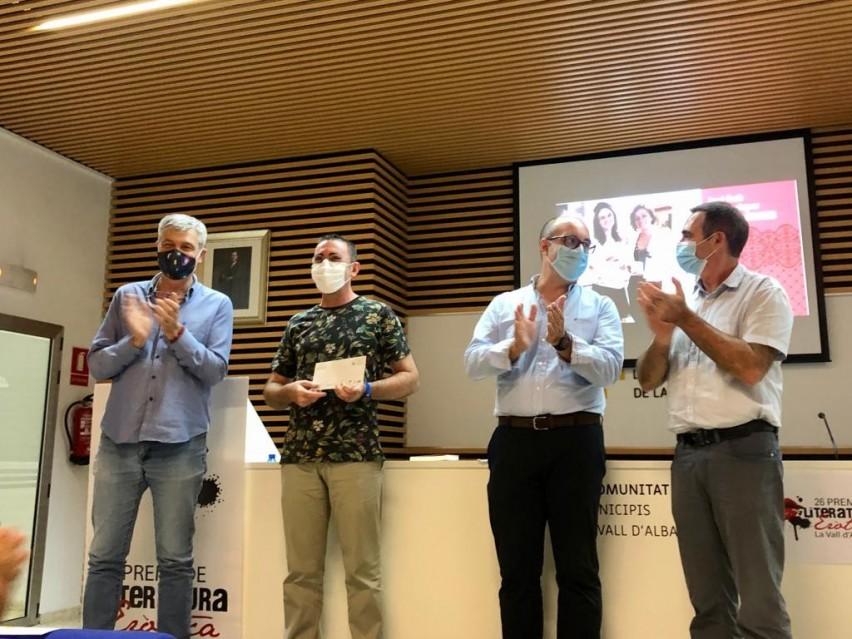 Vicent J. Sanz guanya el XXVI Premi de Literatura Eròtica amb 'No puc viure sense tu'